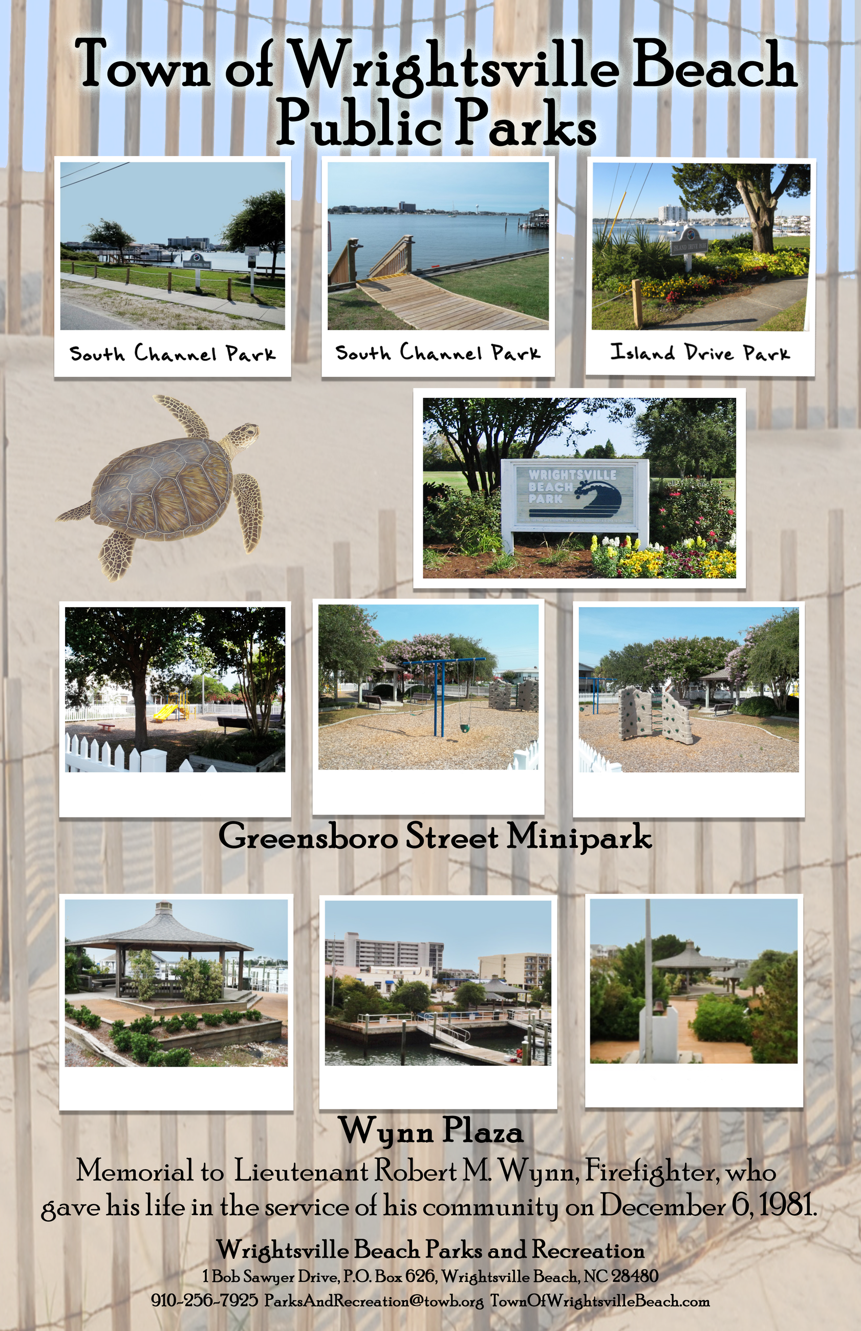 WB Town Facilities Collage