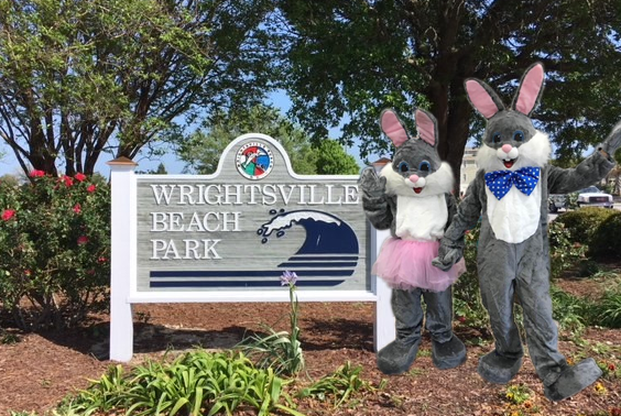 Mr. and Mrs. E. Bunny in the Park