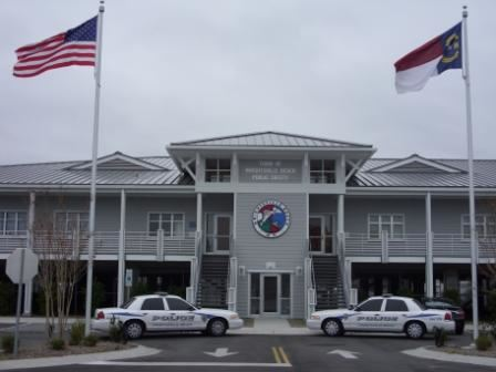 Police Department building front view