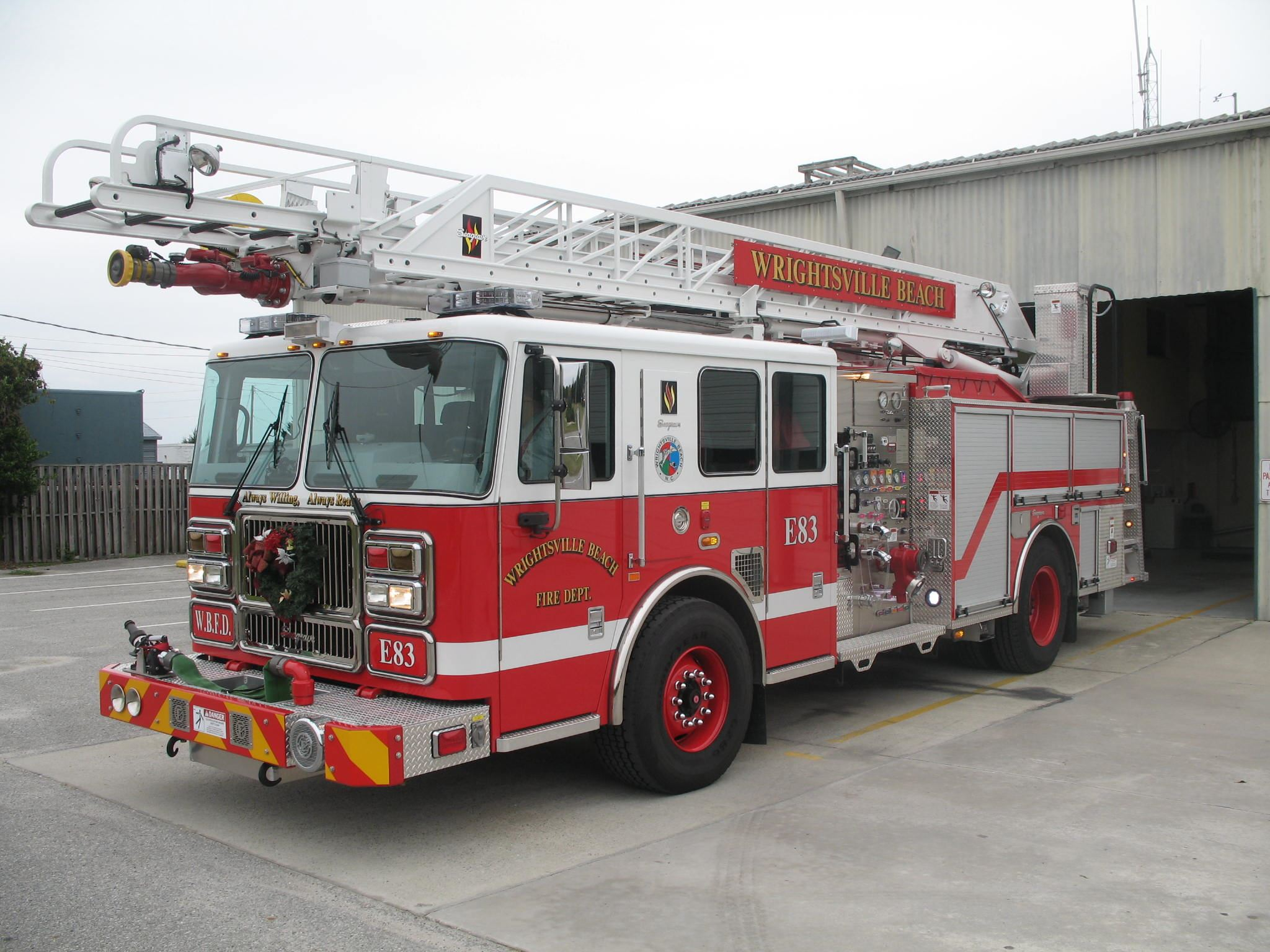 Fire Engine Truck Number 83